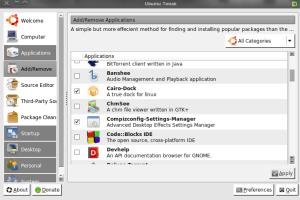 Aplikasi Ubuntu Tweak