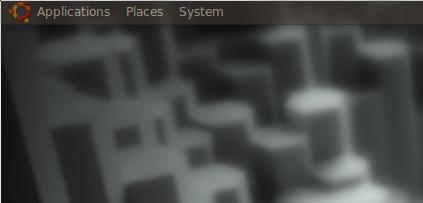 transparant panel ubuntu